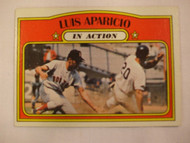 1972 Topps #314 Luis Aparicio In Action NRMT