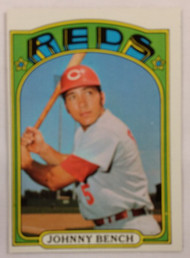1972 Topps #433 Johnny Bench EX