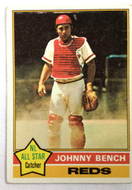 1976 Topps #300 Johnny Bench VG