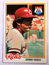 1978 Topps #700 Johnny Bench EX