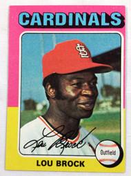 1975 Topps #540 Lou Brock EX OC