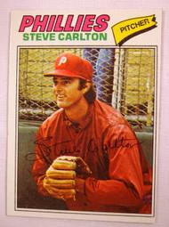1977 Topps #110 Steve Carlton EXMT