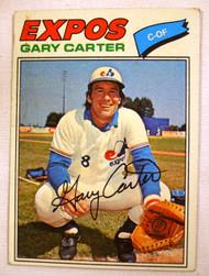1977 Topps #295 Gary Carter VG