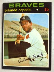 1971 Topps #605 Orlando Cepeda EX