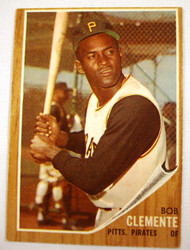 1962 Topps #10 Roberto Clemente VG Pirates