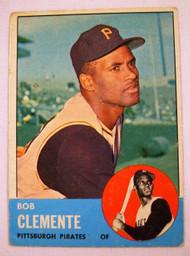 1963 Topps #540 Roberto Clemente VG
