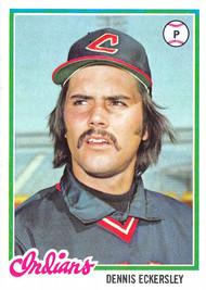 1978 Topps #122 Dennis Eckersley EXMT