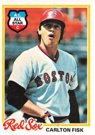 1978 Topps #270 Carlton Fisk EX