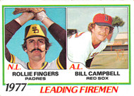 1979 Topps #8 1978 Leading Firemen Figners and Gossage VG