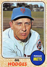 1968 Topps #27 Gil Hodges EXMT (68T27EXMT)