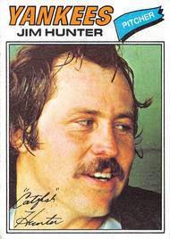 1977 Topps #280 Jim Hunter VGEX (77T280VGEX)