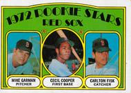 1972 Topps #79 Carlton Fisk RC EX