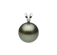 14K Tahitian Pearl Pendant - Medium