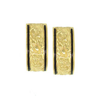 14K Heirloom Kahea Earrings - 8mm