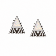Sterling Silver 'Aina Collection Mauna Kea Earrings