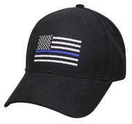 Thin Blue Line Flag  Hat Low Profile Cap