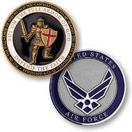 Armor of God Coin Air Force