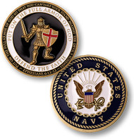 Armor of God Coin NAVY