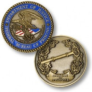 Federal Bureau of Prisons Coin