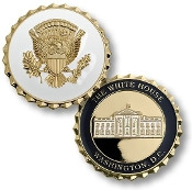 Vice Presidential Service Badge Coin