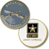 United States Army Infantry Coin