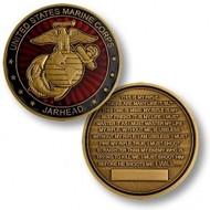 Marine Jarhead Coin