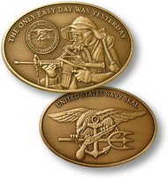 Navy Seal - U.S. Navy Coin