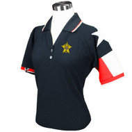 NAVY LADIES TEXAS ORIGINAL PIQUE POLO