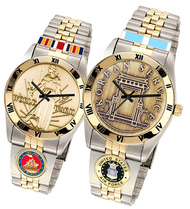 U.S. Veterans Service Medal Watches