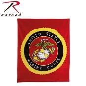 U. S. MARINE CORPS Marines Insignia Fleece Blanket
