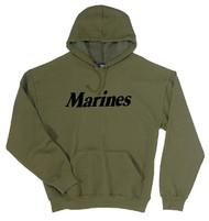 U. S. MARINE CORPS Marines Pullover Hooded Sweatshirt