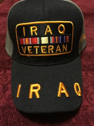 IRAQ VETERAN Military Hat Official item