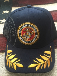 U.S. Marine Corps Military NAVY COLOR Hat
