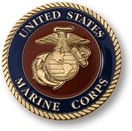 Marine Corps 3 inch Adhesive Medallion
