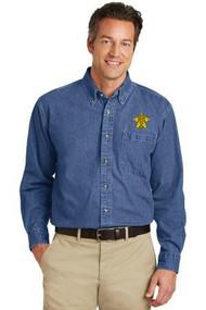 Port Authority® Heavyweight Denim Shirt