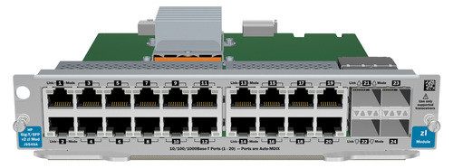 HPE J9548A-61001 20-Port 1000Base-T 2-Port Dual-SFP+ Expansion Module