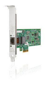 HP NC112T 503746-B21 1Gbps Single Port PCI Express 1 x RJ-45 - 10/100/1000Base-T Gigabit Ethernet Low Profile Network Adapter