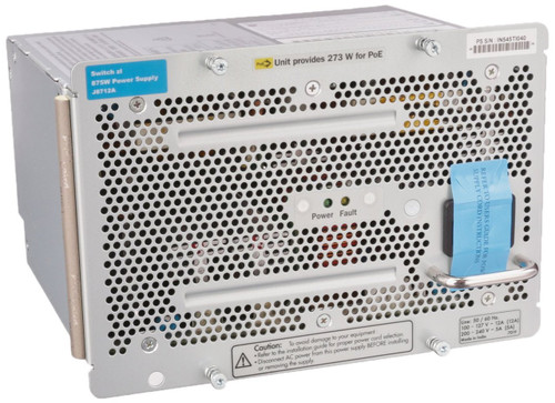 HP J8712A 875 Watt AC 100-127/200-240 Volt Power Supply for HP Procurve 48G Switch 5406 zl