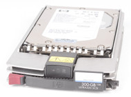 HP 411261-001 300GB 15000RPM 3.5inch Large Form Factor Ultra-320 SCSI 80 Pin Hot-Swap Internal Hard Drive