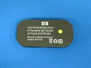 HPE 274779-001 3.6Volt 500mAh NiMH Battery (Battery Only) for BBWC Option on Smart Array Controllers 642/642 (1 Year Warranty)