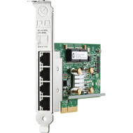 HPE 647594-B21 331T 1Gb 4-Port PCI Express 2.0 X 4 10/100/1000Base-T Plug-in Card Low Profile Wired Ethernet Network Adapter for Proliant Generation 8 to Generation 10 Server