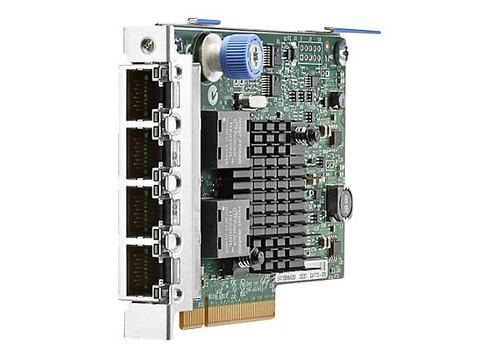 HPE 366FLR 665240-B21 1Gbps Quad Port PCI Express 2.1 x4 FlexibleLOM Gigabit Ethernet Network Adapter for Proliant Server