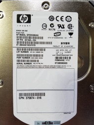 HP 431943-004 300GB 15000RPM 3.5inch Large Form Factor Single Port SAS-3Gbps Hard Drive for Proliant Server
