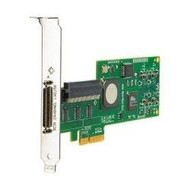 HP AH627A Dual Port PCI Express Ultra-320 SCSI Plug In Card Host Bus Adapter for Proliant Server