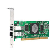 HP AB379B 4GB PCI-Express 266MHz Dual-Port Fibre Channel Host Bus Adapter for Fast Basesystem