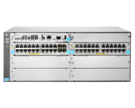 HPE Aruba JL003A 5406R 44GT PoE+ 44Port 4 1/10 Gigabit SFP+ Ports v3 zl2 Gigabit Ethernet Managed Switch