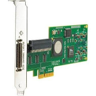 HP 416154-001 Single Port Ultra-320 SCSI PCI-Express Host Bus Adapter