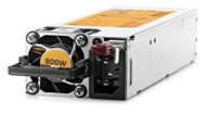 HPE 754381-001 800 Watt Flexi Slot High Efficiency Platinum Plus Redundant Hot-Swap Power Supply for Proliant Generation 9 Server