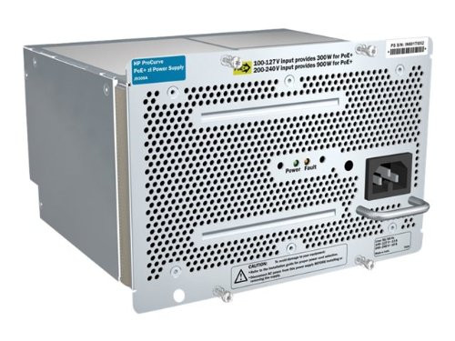 HPE J9306A 1500 Watt Procurve PoE+ Power Over Ethernet Plug-In Module Redundant Power Supply for HP Aruba 5406 and 5412 Switch