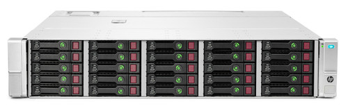 HPE QW967A StorageWorks D3700 25-Bay 2.5inch SFF (Small Form Factor) SAS/SATA Disk Enclosure (3 Years Manufacturer Warranty)